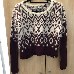 A&F crop top sweater